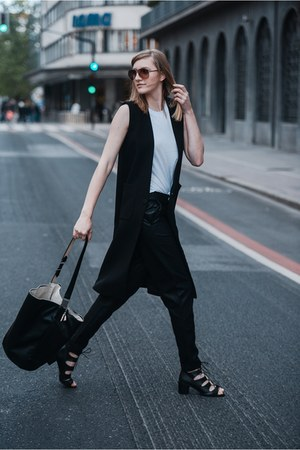 Front Row Shop vest - asos pants