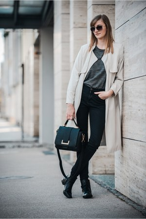 Zara jeans - H&M bag