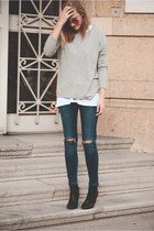Zara sweater - H&M jeans