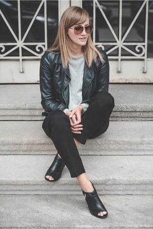 Zara jacket - Bata heels