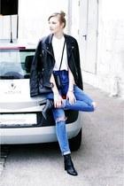 asos jeans - Zara jacket
