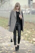 H&M bag - Zara coat - H&M pants