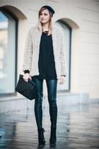 H&M shirt - Zara bag