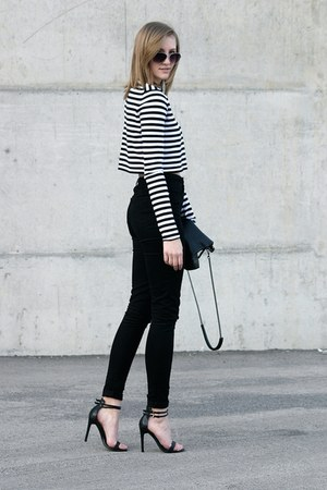 Zara sweater - asos pants