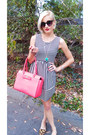 Tj-maxx-dress-hot-pink-satchel-kate-spade-bag-black-target-sunglasses