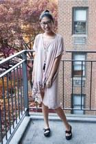 light pink MinkPink dress - shoplately ring