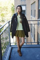 Lookbook Store jacket - shoplately necklace - H&M top