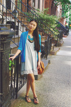 Lorraine Tyne necklace - Marshalls dress - PacSun cardigan - Forever 21 sandals