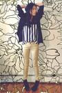 Pacsun-boots-pacsun-jeans-vintage-blazer-pacsun-top
