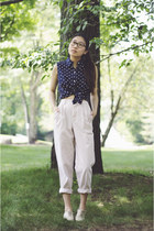 Ralph Lauren blouse - vintage pants