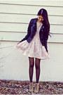 Zara-shoes-vintage-dress-black-sheinside-jacket