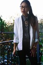 Shoplately-boots-zlz-blazer-popbasic-blouse-shoplately-necklace