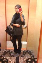 new york & co blazer - True Religion jeans - Vans shoes - H&M scarf - Arbor purs