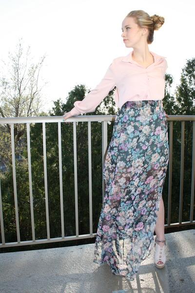 maxi skirt Kaydance Kloth skirt - Kaydance Kloth shirt