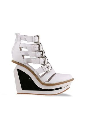 white Jeffrey Campbell shoes