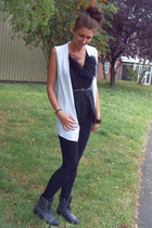 Zara jacket - Topshop top - River Island shoes