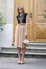 Bcbg-maxazria-bag-zara-heels-mango-skirt-american-apparel-bodysuit