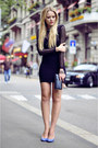 Motelrocks-dress-chanel-bag-bally-heels