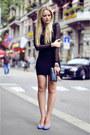 Motelrocks-dress-chanel-bag-bally-heels