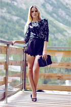 Fabi heels - Jelmoli-shop shirt - Chanel purse - Style Sofia shorts