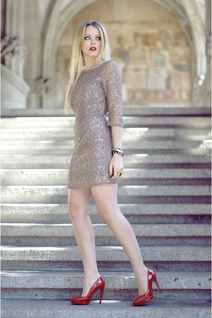 Isabel Lu dress - Vogele heels - Zara bracelet