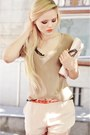 Beige-isabel-lu-shirt-light-pink-h-m-bag-neutral-isabel-lu-shorts-orange-h