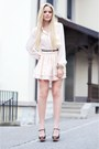 Light-pink-h-m-skirt-black-zara-wedges-light-pink-h-m-blouse-black-h-m-bel