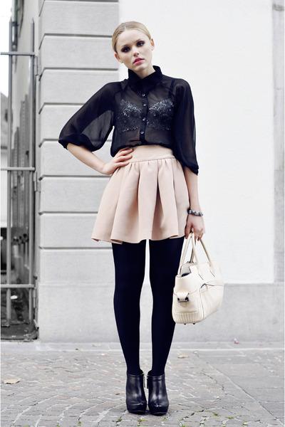 Reed Krakoff bag - Stylebysofia shirt - Zara skirt - Mango heels