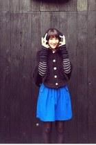 Ebay cape - pibs xchange skirt - Forever 21 cardigan