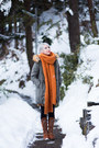 Timberland-boots-music-and-ecology-coat-handmade-scarf