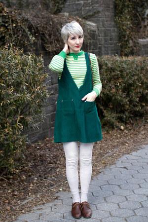 vintage jumper - vintage shoes - vintage sweater