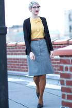 vintage skirt - Joe Fresh tights - vintage blouse