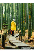 niko and coat - Japanese dress