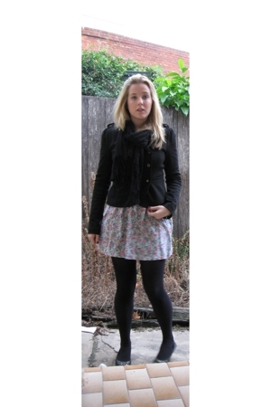 Forever New jacket - Lulu & Rose skirt - Myer accessories - Country Road shoes -