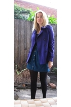 Sportsgirl coat - dont ask amanda skirt - accessories - top - accessories
