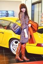 tawny MT Shoe Slovakia boots - tawny more & more dress - tawny Hallhuber coat