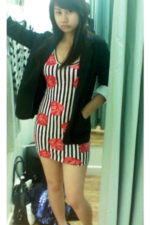 Newlook blazer - Newlook dress