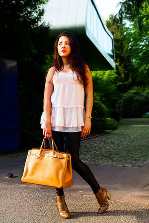 birkin 40 Hermes bag - Moschino shoes - Bucherer ring - medor Hermes watch