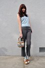 Light-blue-vintage-blouse-gray-vintage-pants-light-blue-socks-tawny-vintag