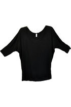 black American Apparel blouse