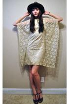 Lace Kimono Vintage Carol Craig Dresses