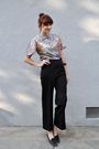 Black-vintage-pants-vintage-shoes-blue-vintage-blouse-black-h-m-accessorie