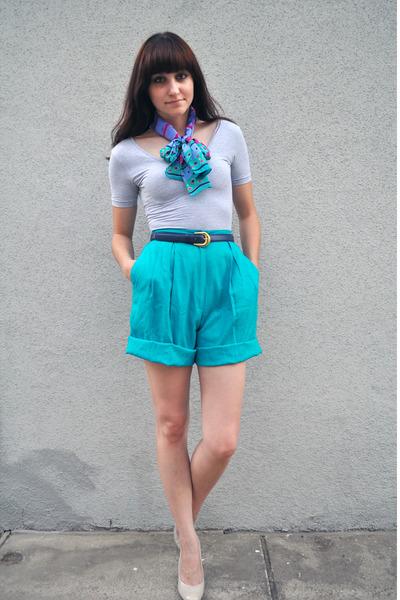 Silver-american-apparel-shirt-blue-vintage-scarf-blue-vintage-shorts-blue-_400