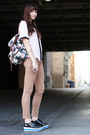 Bag-bdg-pants-chanel-esque-vintage-blouse-sneakers
