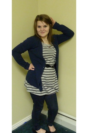 hollister jeans - boyfriend fit Golden State Jeans Co cardigan - Pretty Good t-s