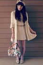 Cream-lace-h-m-dress-cream-thrifted-sweater-pink-lace-tights