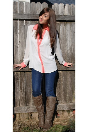 Baretraps boots - BDG jeans - Forever 21 shirt