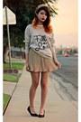 Eggshell-romwe-hat-eggshell-furormoda-sweater-eggshell-iwearsin-skirt
