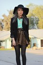 Black-buckle-romwe-boots-black-tillys-hat