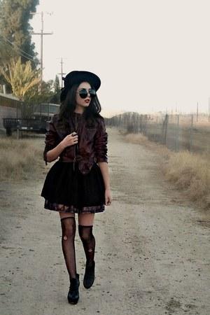 black black Forever 21 dress